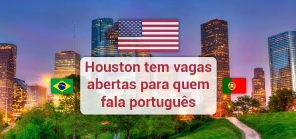 Houston, no Texas, tem 50 vagas para quem fala português - Foto: Reprodução Centralsecuritygroup