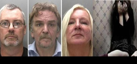 Imagens dos molestadores divulgadas pela polícia