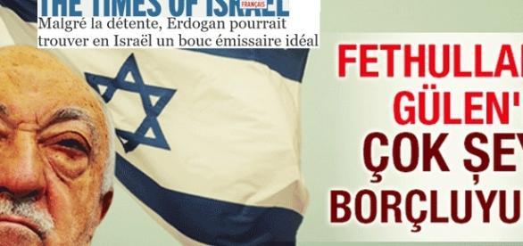 La Turquie se rapproche d'Israël après avoir accusé Gülen d'être un agent israélien