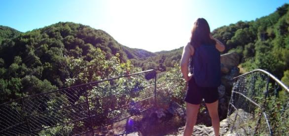 Les Gorges de la Sioule, un site idéal pour les randonneurs / Photo : S.Hervy
