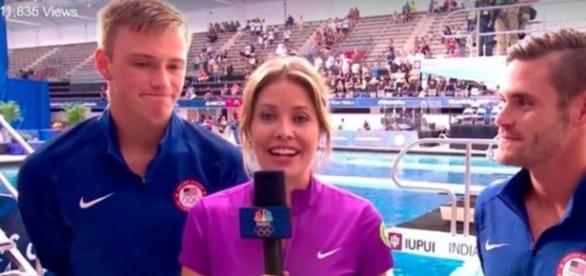 Lindo! Atletas relatam durante as olimpíadas sua vida em cristo.