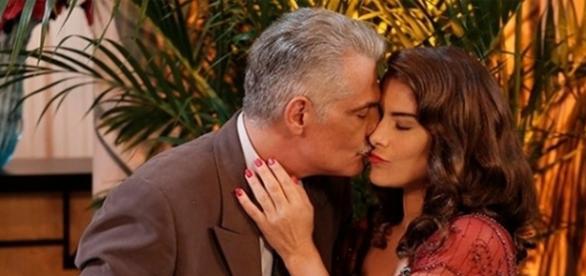 Severo e Diana decidem ficar juntos (Divulgação/Globo)