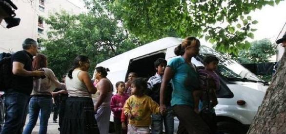 Tabără de romi atacată în Marsilia