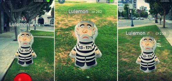 Lula quer ser pokémon no Brasil (Lulemon)