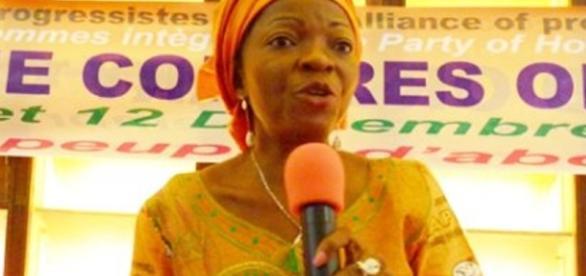 Madame Alice Sadio présidente de l'AFP