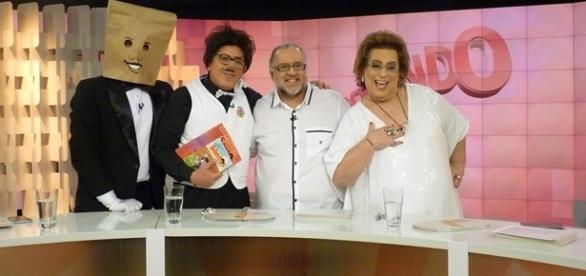 Participação do humorista Santos no Programa Fofocando