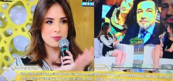 Patrícia Lélis é desmascarada ao vivo