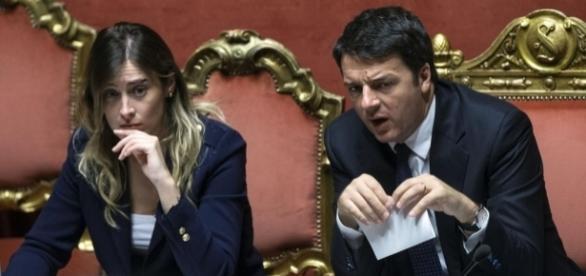 Referendum costituzionale ultime notizie: il Presidente del Consiglio, Matteo Renzi e il ministro Boschi