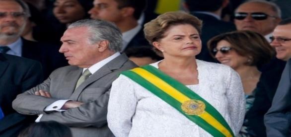 Dilma admitiu erro ao escolher Michel Temer como vice