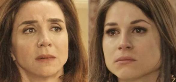Francesca repreende Carmela por causa de Tancinha