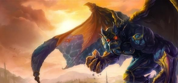 Galio, campeón de League of Legends.
