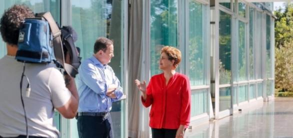 Roberto Cabrini exibiu entrevista reveladora com Dilma Rousseff
