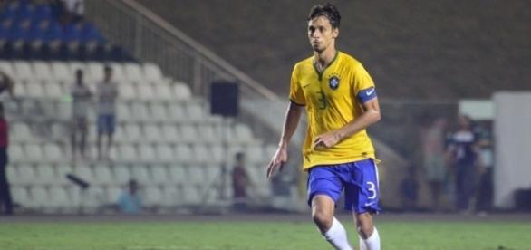 Rodrigo Caio, zagueiro da Seleção Olímpica.
