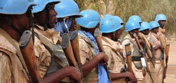 How effective is the Blue Helmet Brigade? Photo via vice.com