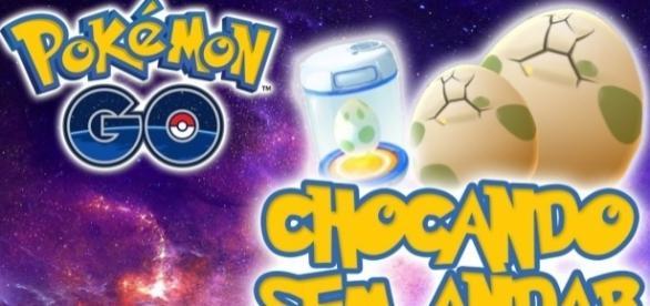 Chocando ovos sem andar em Pokémon Go
