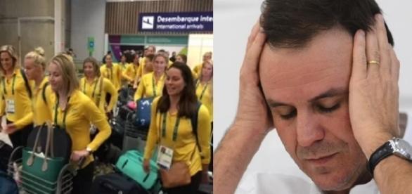 Delegação está preocupada com doença misteriosa (Divulgação/Internet)