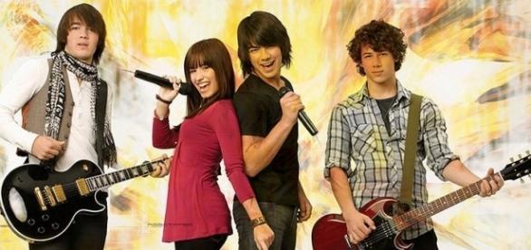 Demi Lovato e Joe Jonas juntos