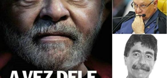 Escândalo envolve Lula e o STF - Foto/Montagem