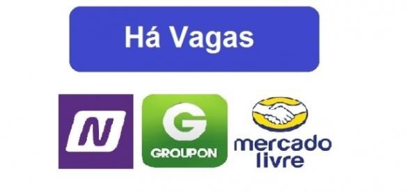 Groupon, Netshoes e Mercado Livre contratam