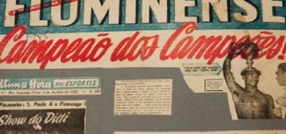 Mundial de Clubes da época, Copa Rio ficou com o Fluminense em 1952 (Foto: Net Flu)