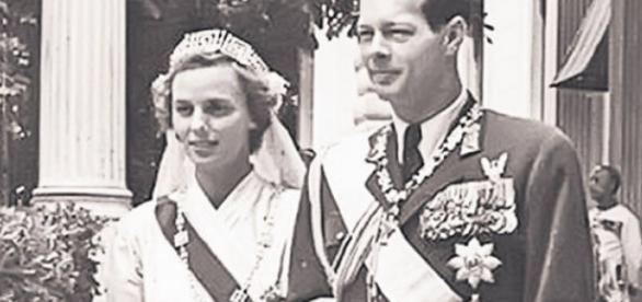 Regina Ana și Regele Mihai I al României