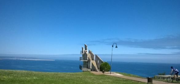 El mirador de el Parque Cabo San Lorenzo es impresionante.