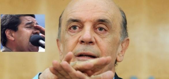 José Serra faz discurso contra Venezuela