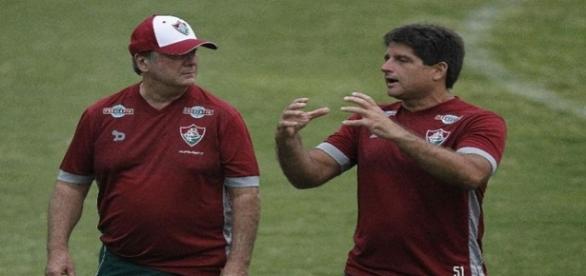 Levir Culpi pede mais eficiência no ataque do Fluminense (Foto: Arquivo)