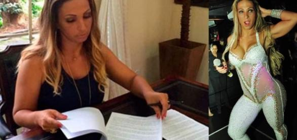 Valesca Popozuda lança livro e Bial comenta
