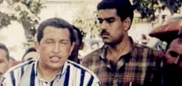 Hugo Chaves e Nicolás Maduro - Foto/Divulgação