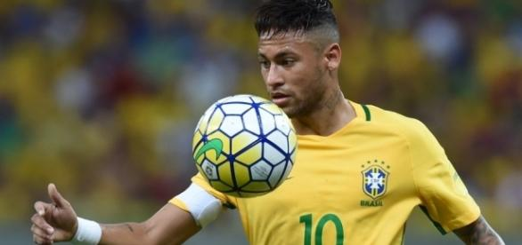 Neymar, craque da Seleção Brasileira