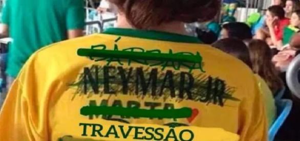 Neymar e Brasil levam ouro e vitória vira meme