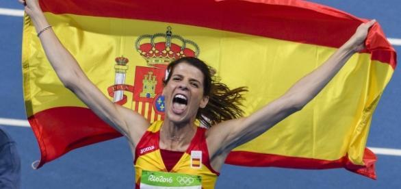 Ruth Beitia, primera medalla de oro para España
