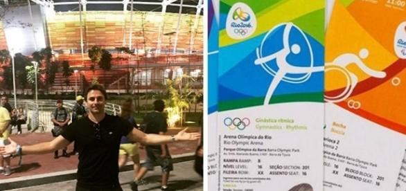 Murilo Rosa é acusado de vender ingressos falsos do Rio 2016.