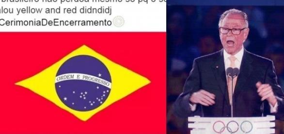 Nuzman troca a cor da bandeira do Brasil
