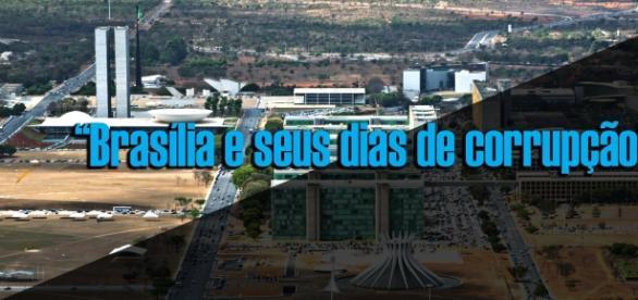 A política no DF vive dias de tormento e denuncias, que mancham a imagem de Brasília