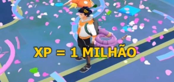 Conseguir 1 milhão de XP é o sonho de todo treinador.