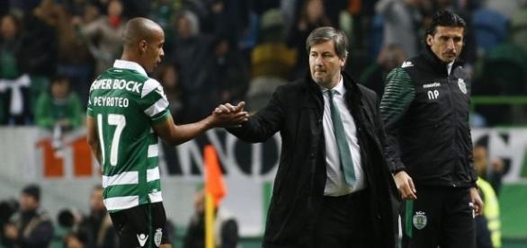 João Mário deve jogar contra o FC Porto