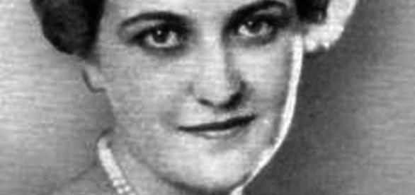 Magda Goebbels, esposa del ministro nazi Joseph Goebbels