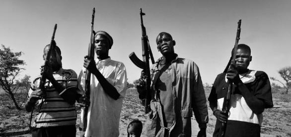 Niños soldados, una realidad de África