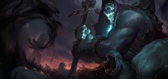 Yorick, campepón de League of Legends.
