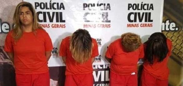 4 pessoas estão presas acusadas de participação no crime.