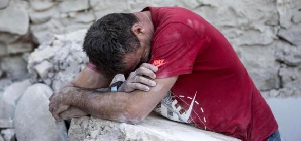 Desolación entre los vecinos de Amatrice, el pueblo que desapareció tras el terremoto