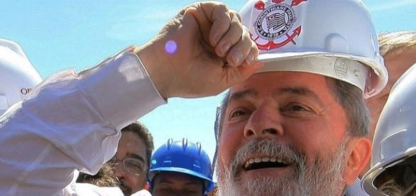 Lula nunca escondeu seu amor ao Corinthians