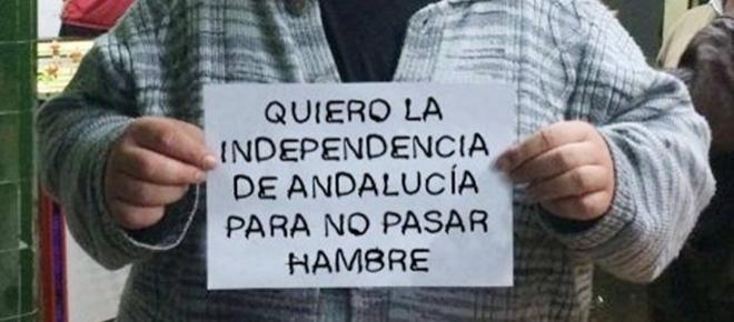 El líder de Sindicato Andaluz que pide la Independencia de Andalucía