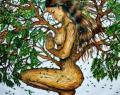 Aprende a absorber energía positiva de los árboles