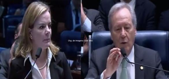 Gleisi teve pedido indeferido pelo presidente do STF