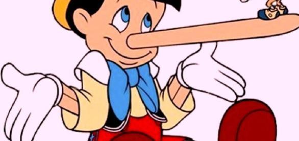 Pinóquio, o personagem que contava muitas mentiras