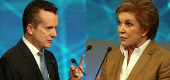 Russomanno e Marta Suplicy - Foto/Montagem
