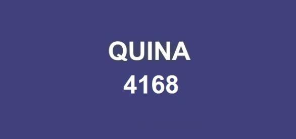 Divulgação do resultado da Quina 4168 ocorre nessa sexta-feira, dia 26